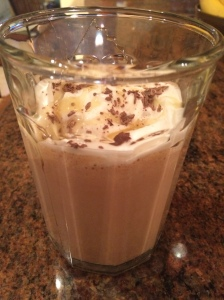 Reeses shake side view